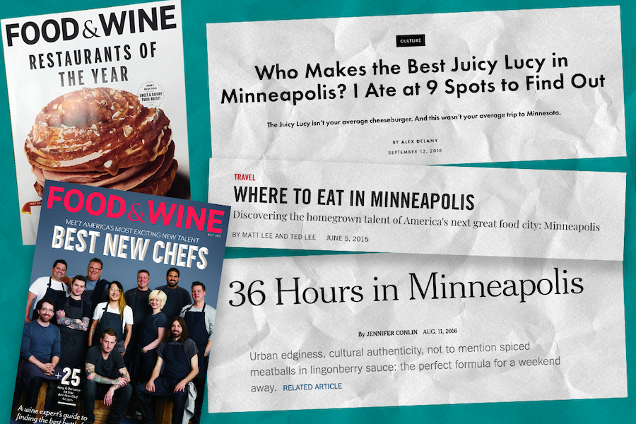 A restaurant revolution has elevated the Twin Cities food